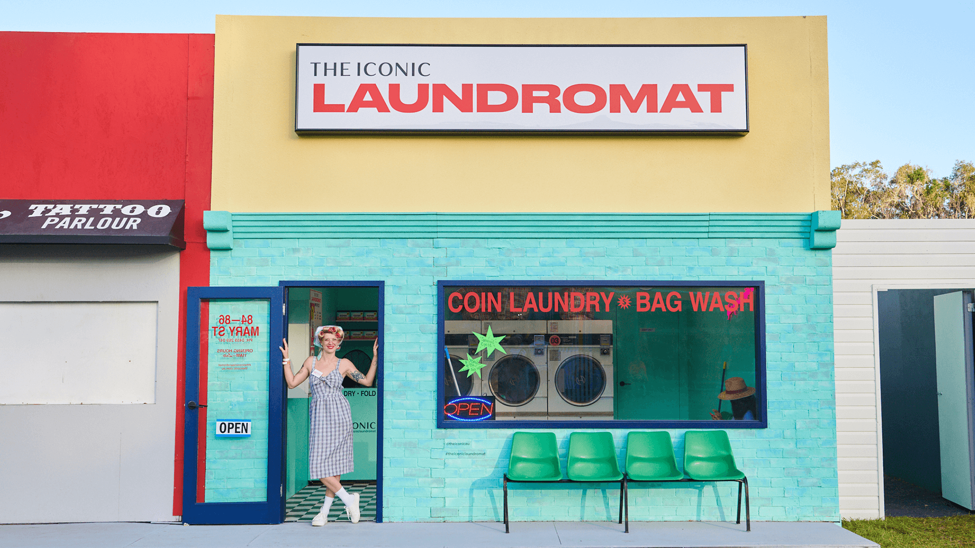 6. The Iconic laundromat 1